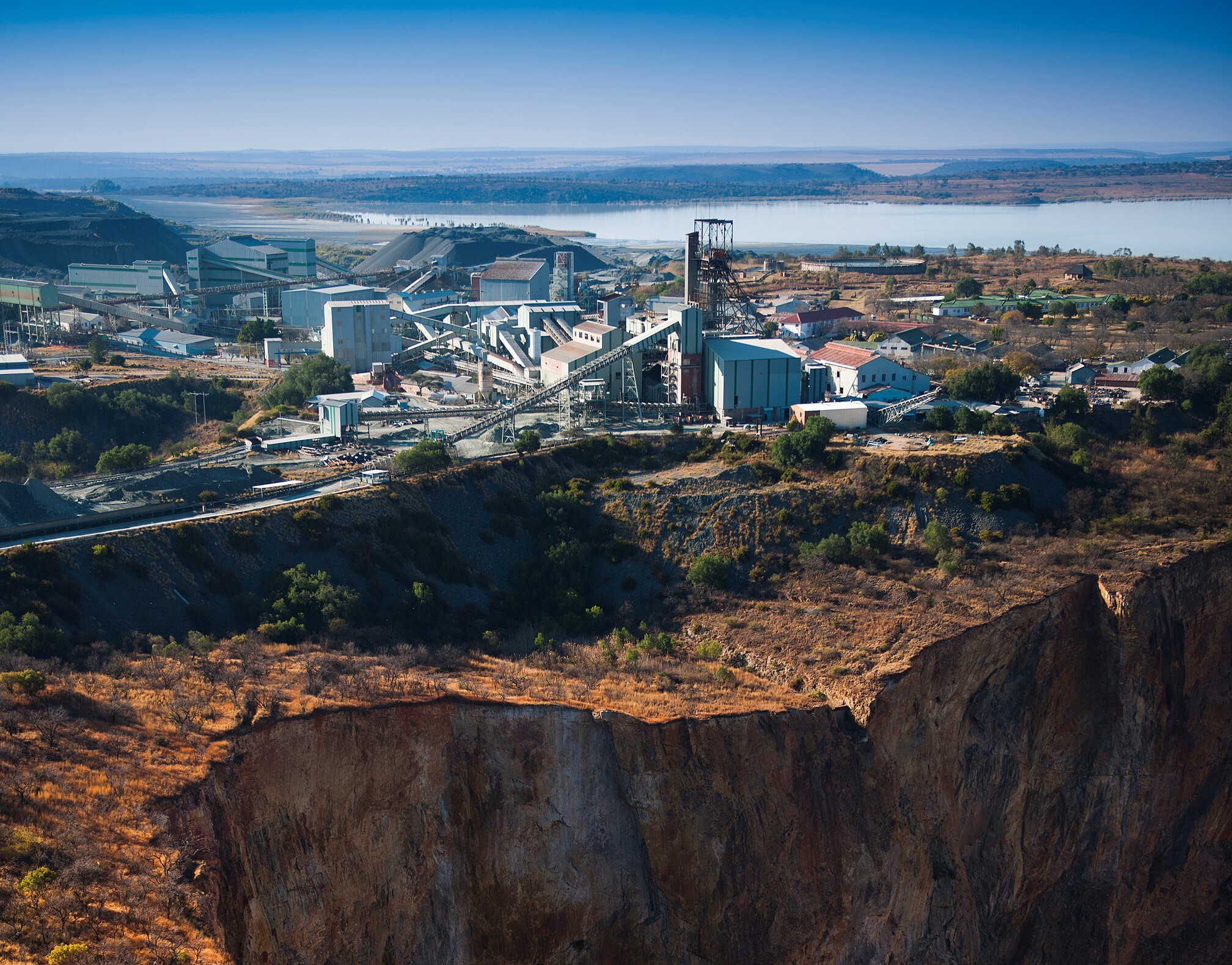 The Cullinan mine in South Africa cropped