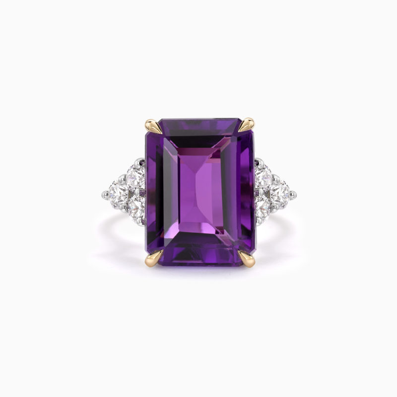 Amethyst cocktail ring 2