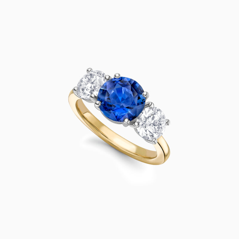 Sapphire and diamond trilogy ring website 1