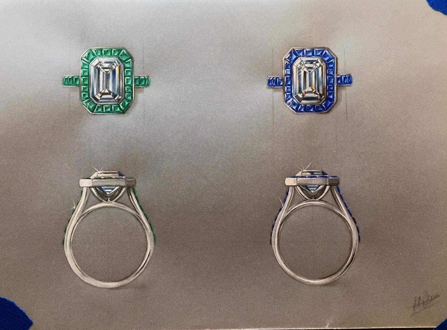 Dorset Rendering Emerald and Sapphire 1